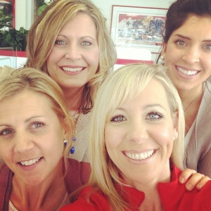 Rivera, Carole (top row); Meredith and Gennie
