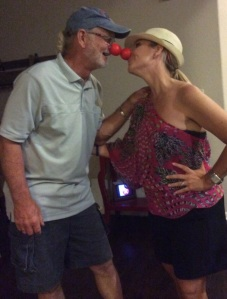 Clowning around with dad!  I love you now and forever!!!  Thank you for loving ME!