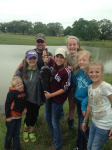 Ryan and his girls, nieces and nephew