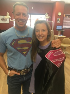 Even our local businesses have joined in the fight. Lexi and her Uncle, Dr. Tyler Ferris are Super Heroes against drugs!
