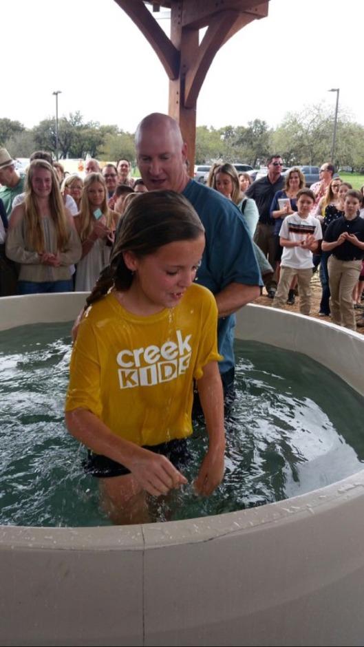 Ash's baptism