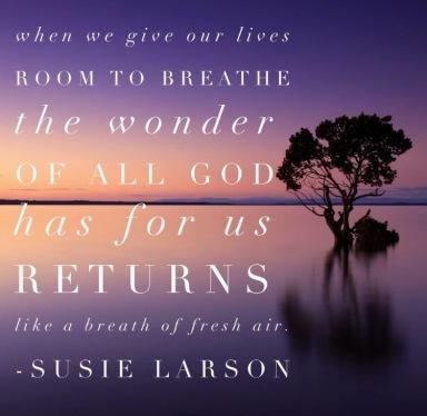 Susie Larson quote